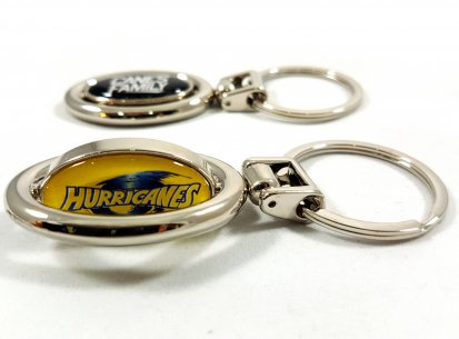 HURRICANES SPINNING KEYRINGS