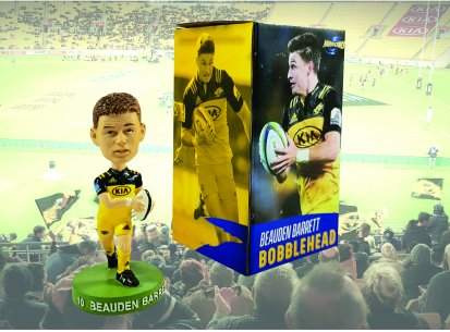 Beauden Barrett Hurricanes Bobblehead
